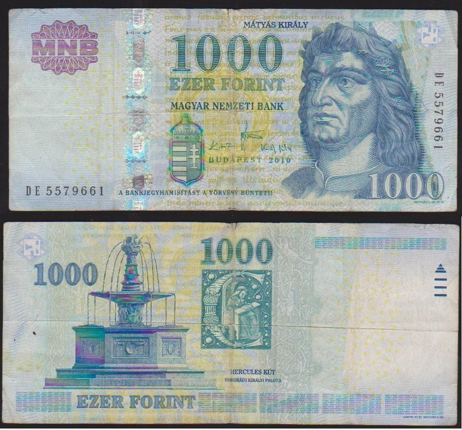 Hungarian Currency, Exchange Rate in Hungary, Budapest Costs Pictures of hungarian money